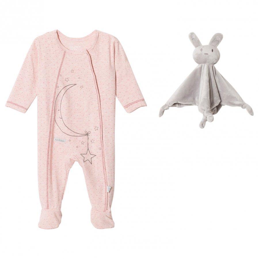 Hust & Claire Pyjamas Rose Cloud Melange Yöpuku