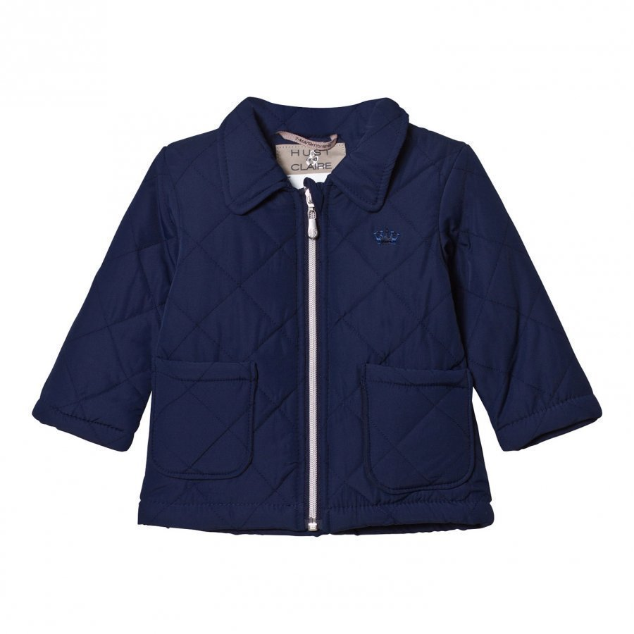 Hust & Claire Quilted Jacket Night Blue Tikkitakki