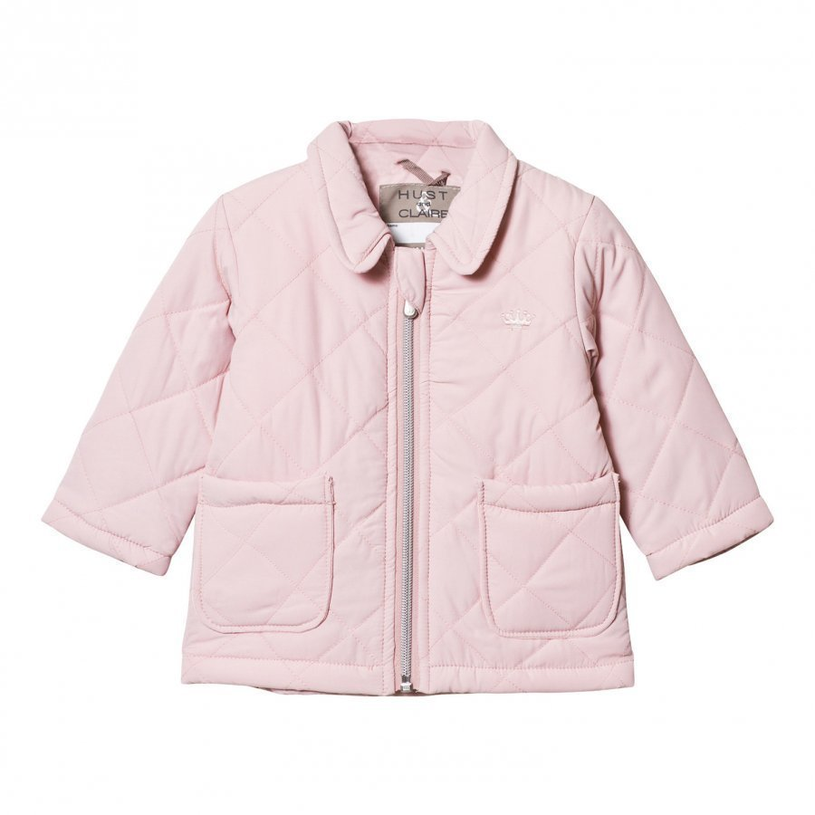Hust & Claire Quilted Jacket Peach Dust Tikkitakki