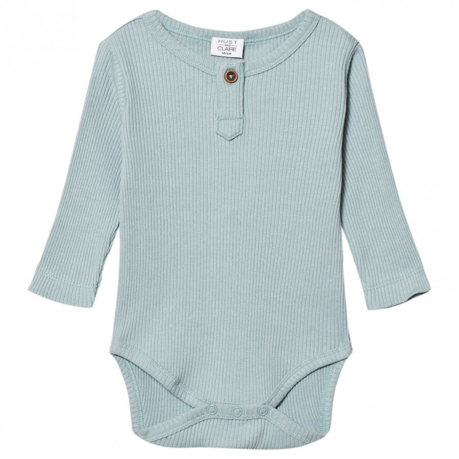 Hust & Claire Ribbed Baby Body Petrol Body