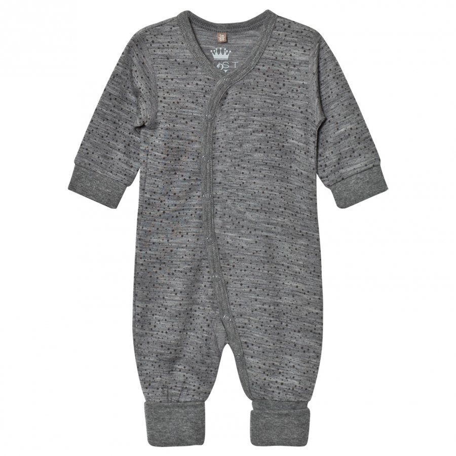 Hust & Claire Spotted One-Piece Wool Grey Body