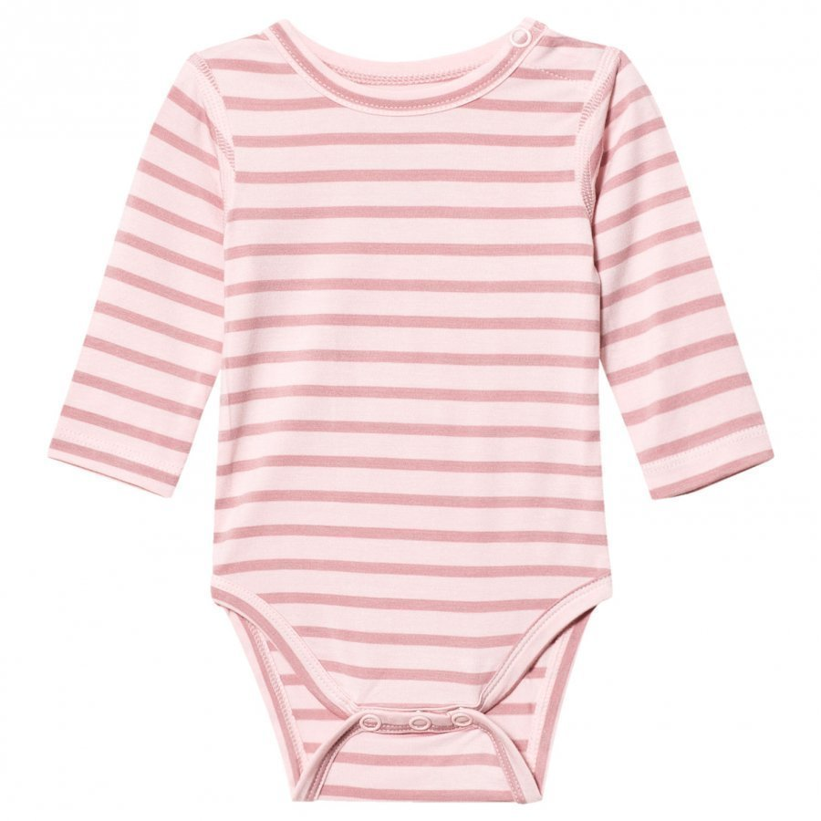 Hust & Claire Striped Baby Body Bamboo Rose Tan Body