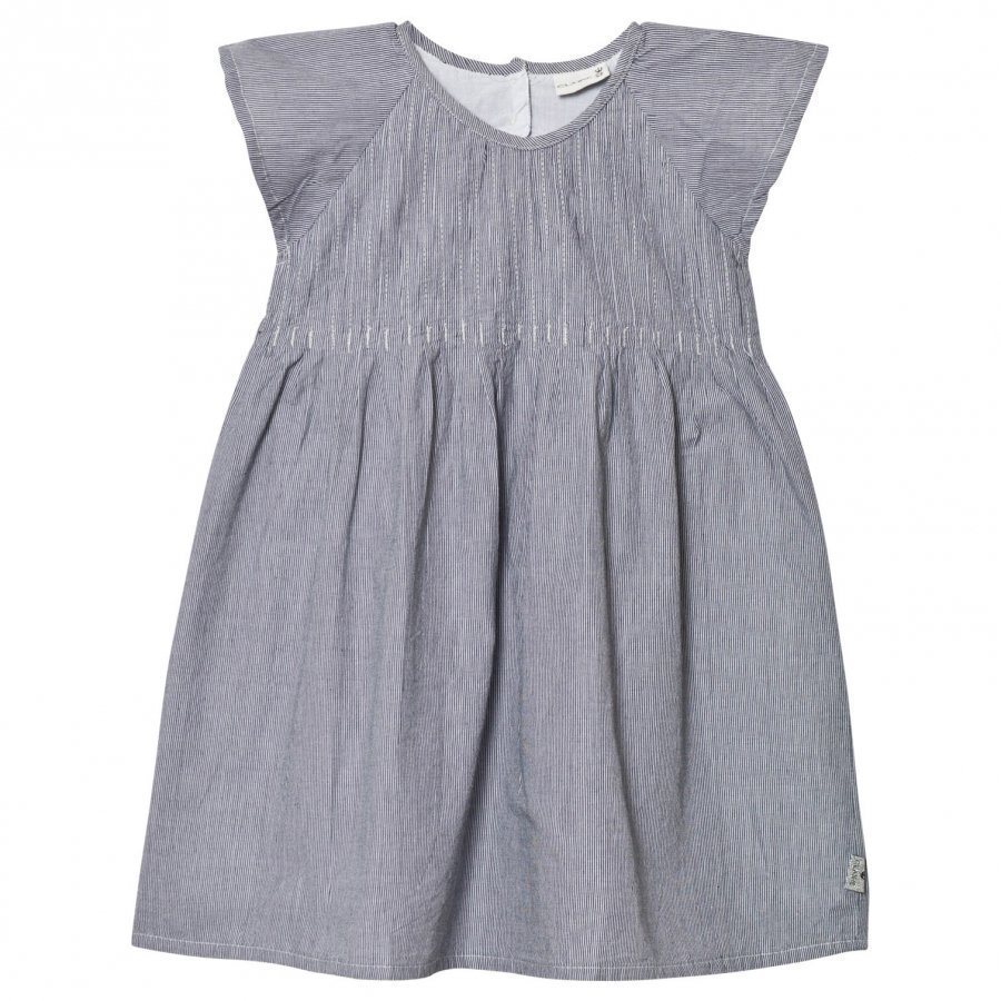 Hust & Claire Striped Dress Blue Juhlamekko