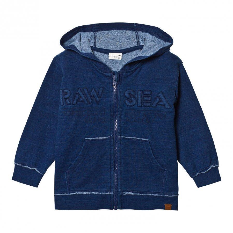 Hust & Claire Sweatshirt With Zipper Blue Moon Oloasun Paita