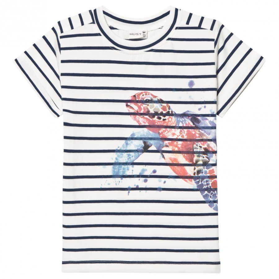 Hust & Claire T-Shirt With Turtle Blue Moon T-Paita