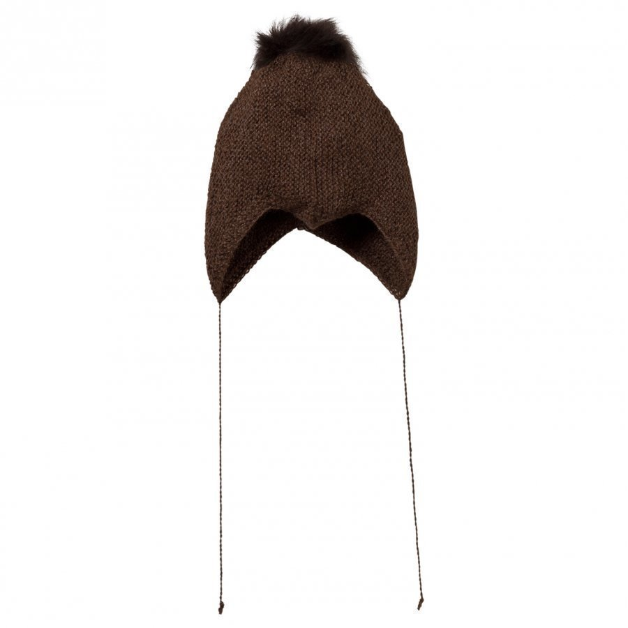 Huttelihut Baby Hat Brown Pipo