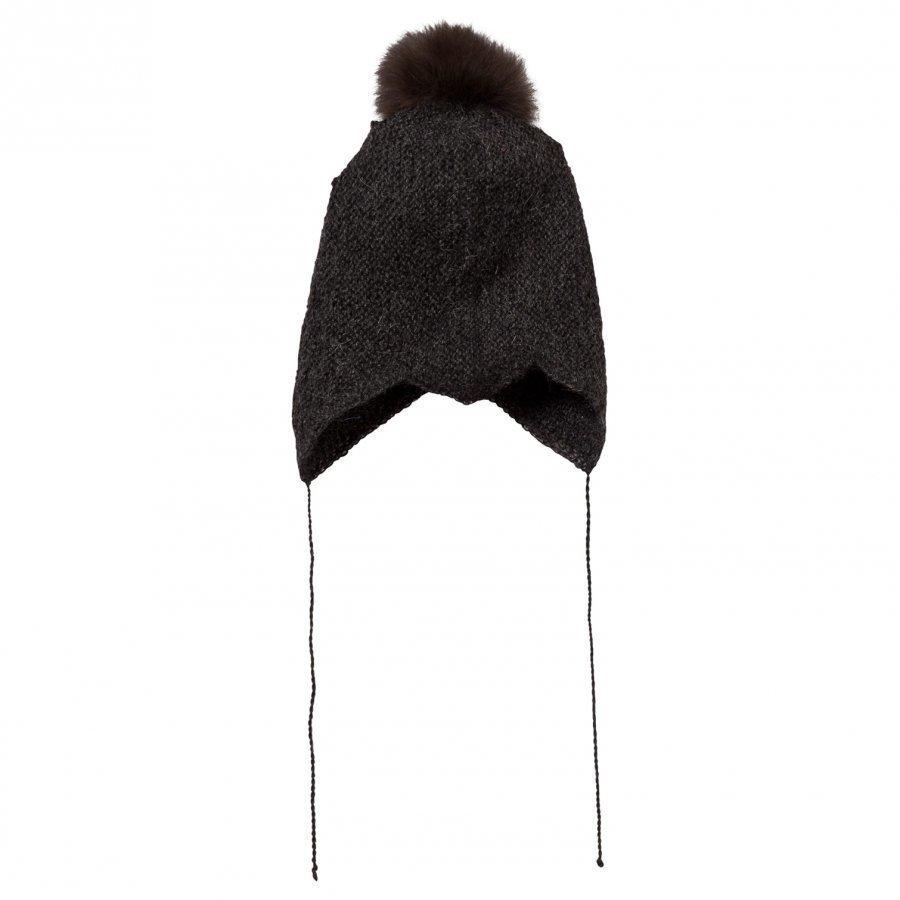 Huttelihut Baby Hat Dark Grey Pipo