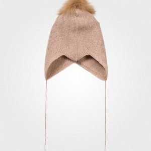 Huttelihut Baby Hat Dusty Rose Pipo