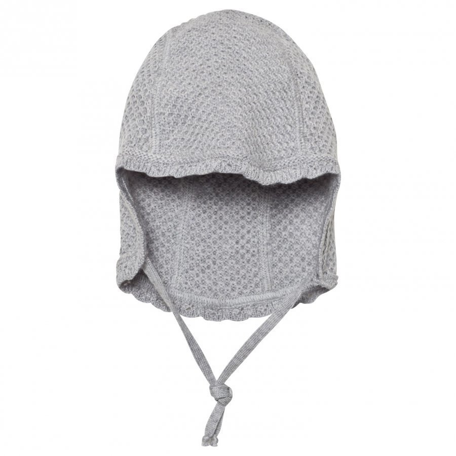 Huttelihut Babyhut Light Grey Pipo