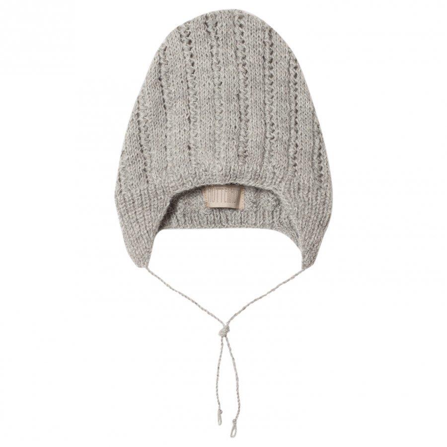 Huttelihut Babyhut / Pattern L.Grey Pipo