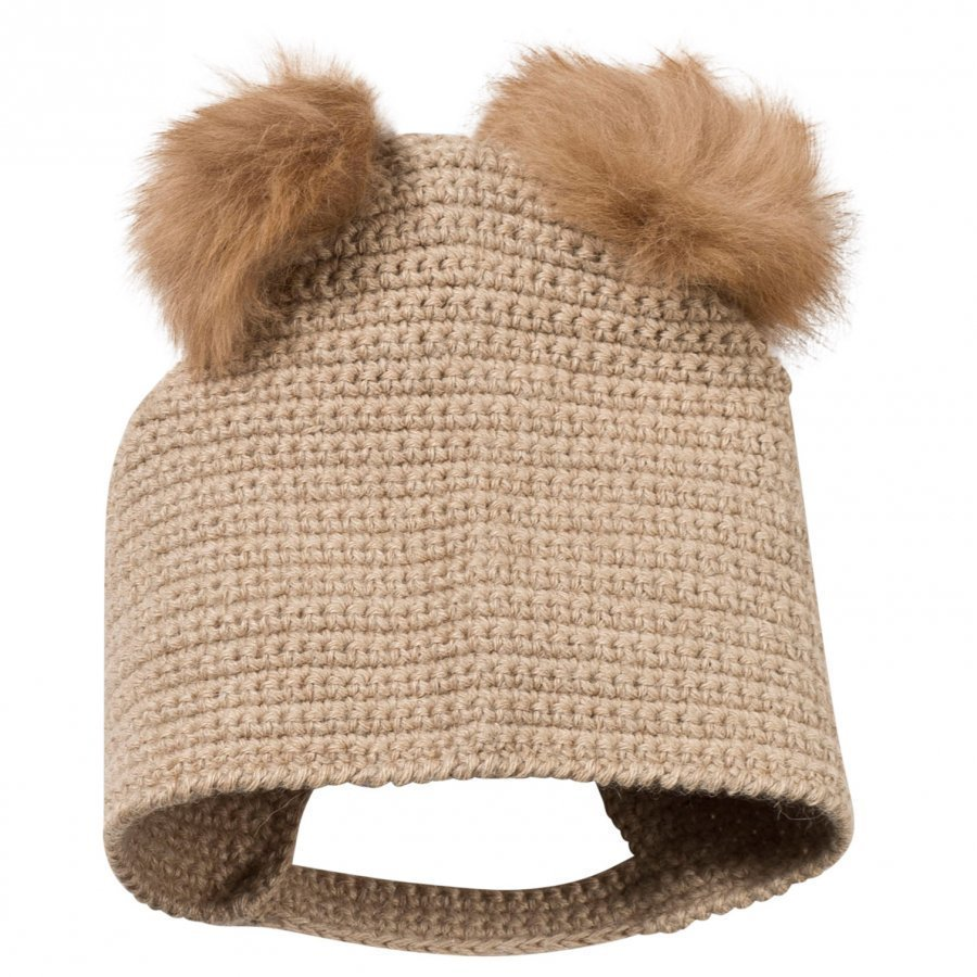 Huttelihut Crocheted Hat Camel Pipo