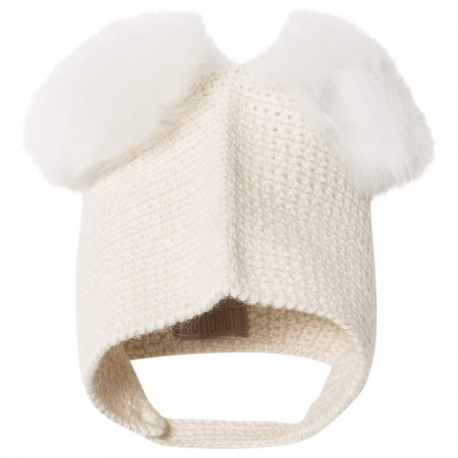 Huttelihut Crocheted Off White Pipo