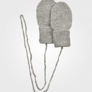 Huttelihut Mittens Light Grey Villalapaset