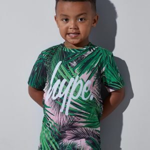 Hype Jungle T-Shirt Vihreä