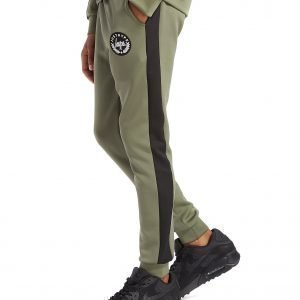 Hype Poly Pants Khaki / Black