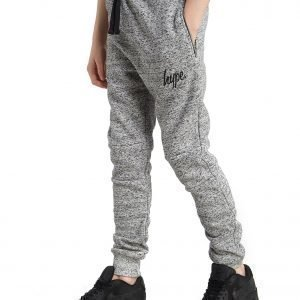 Hype Zip Pocket Pants Grey Marl / Black