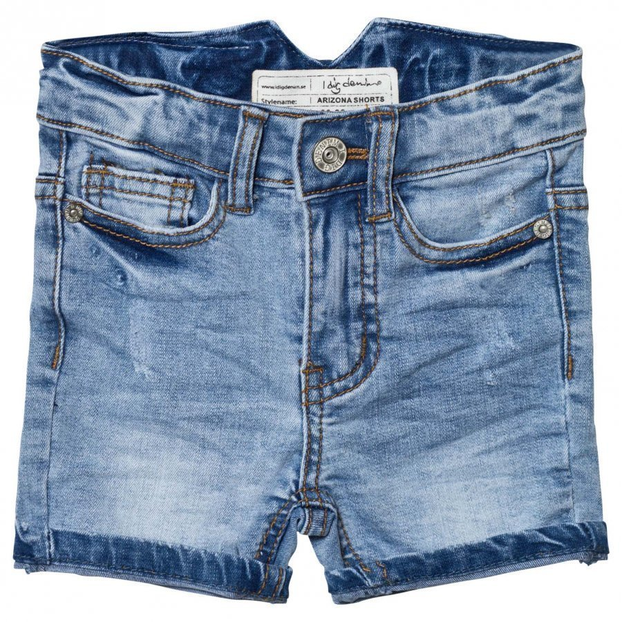 I Dig Denim Arizona Shorts Blue Farkkushortsit