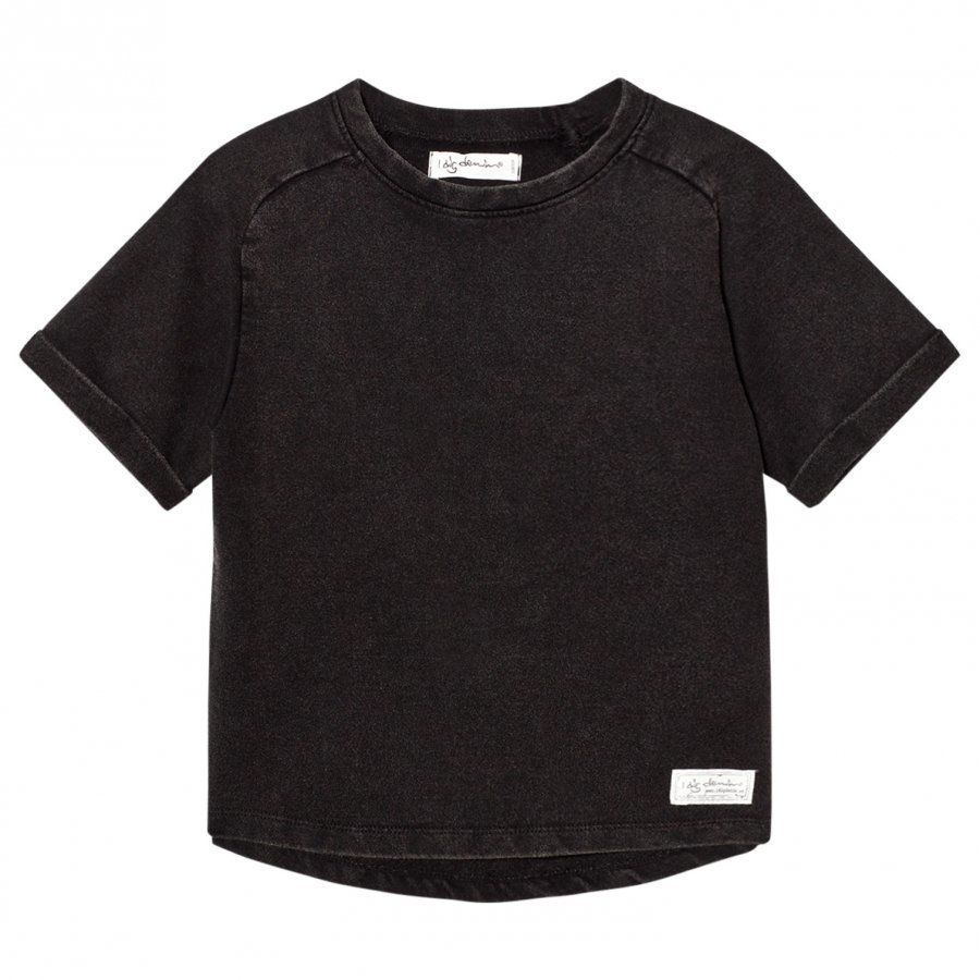 I Dig Denim Ben Sweater Tee Black Washed T-Paita