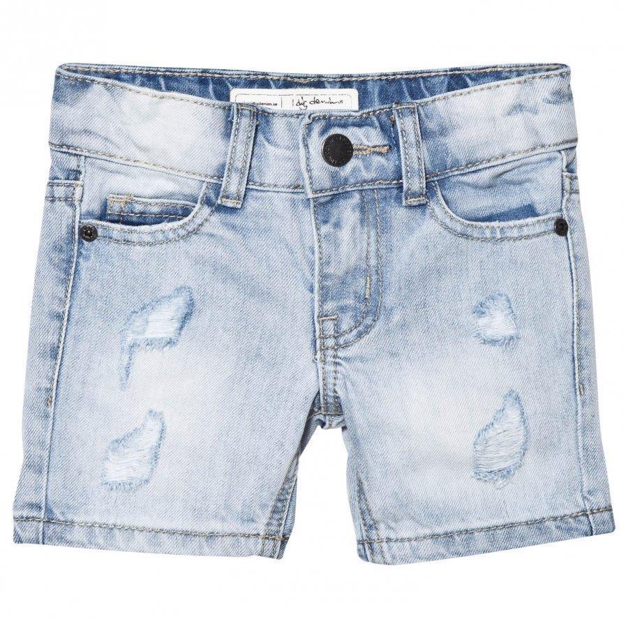 I Dig Denim Denton Shorts Light Blue Farkkushortsit