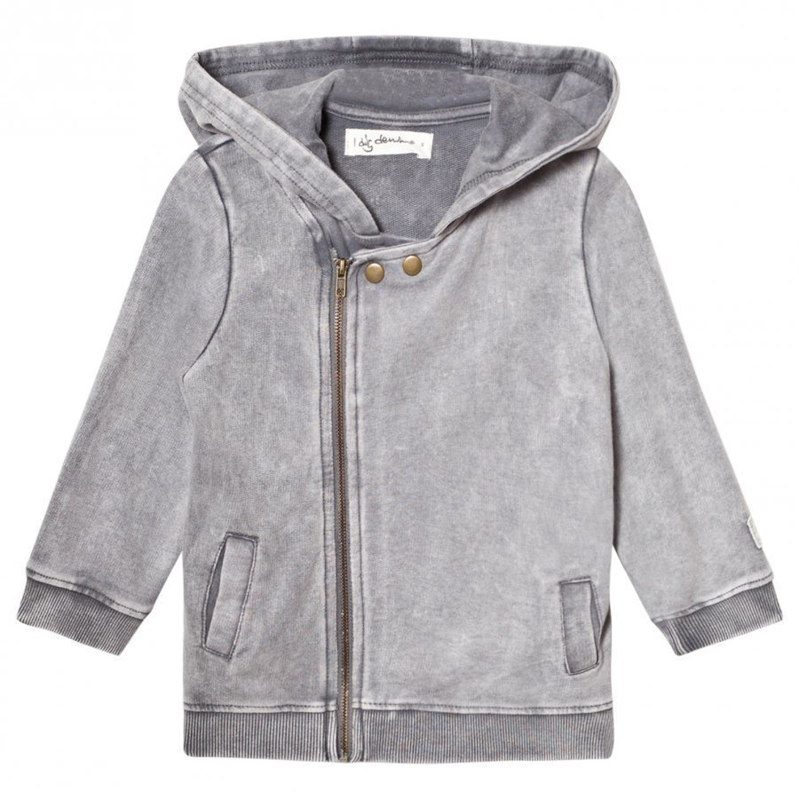 I Dig Denim Egon Jacket Light Grey Washed Huppari