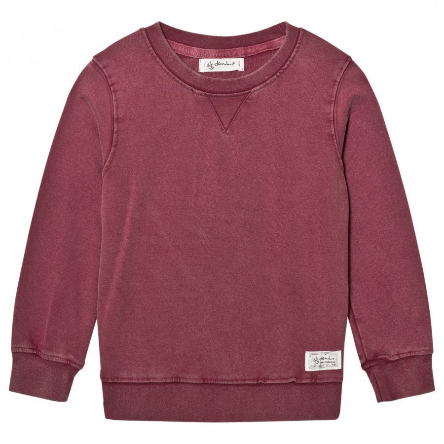 I Dig Denim Julius Sweater Burgundy Oloasun Paita