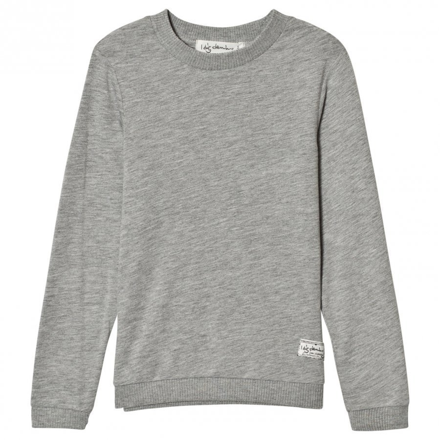 I Dig Denim Lee Tee Grey Pitkähihainen T-Paita