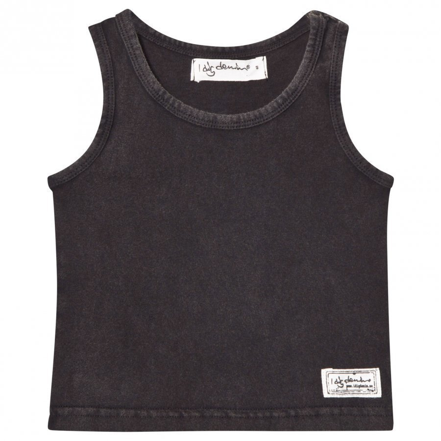 I Dig Denim Levi Singlet Top Black Liivi