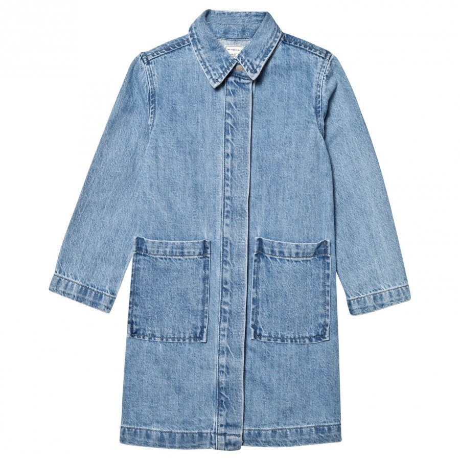 I Dig Denim Liana Denim Coat Denim Blue Farkkutakki