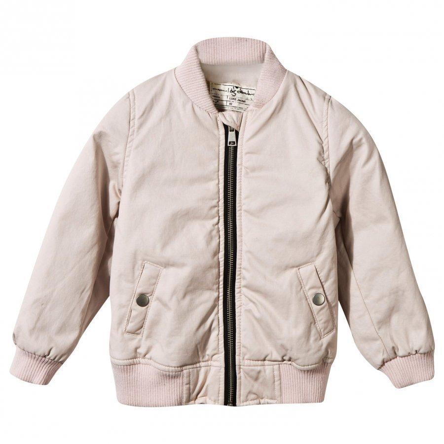 I Dig Denim Luke Jacket Pink Bomber Takki