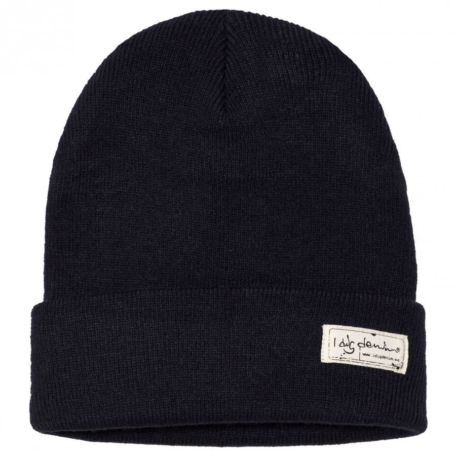 I Dig Denim Morris Beanie Dark Blue Pipo