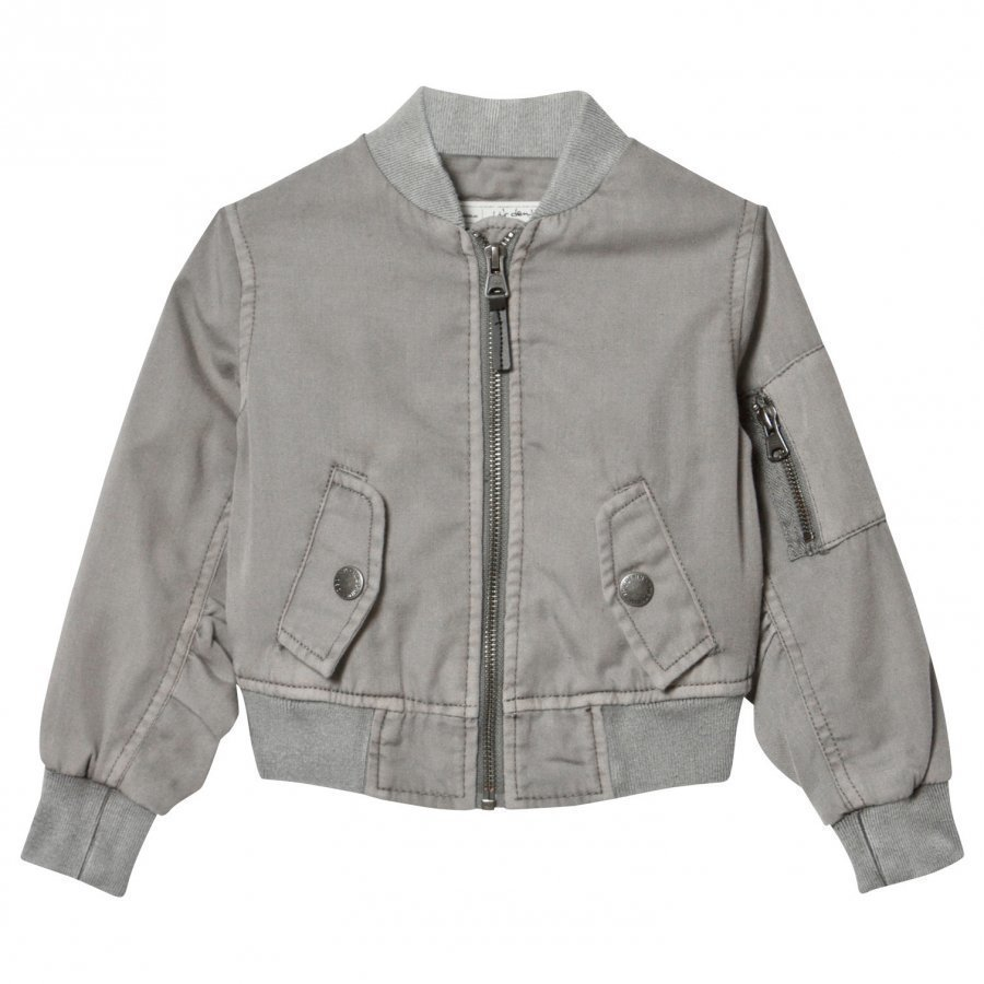 I Dig Denim Norton Jacket Grey Bomber Takki