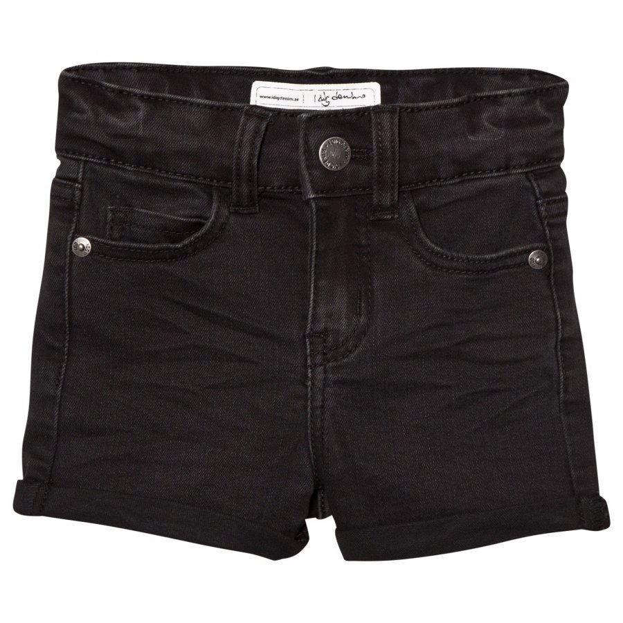 I Dig Denim Rio High Waist Shorts Black Farkkushortsit