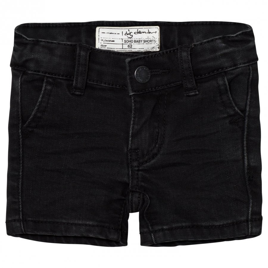 I Dig Denim Soho Baby Shorts Black Oloasun Shortsit