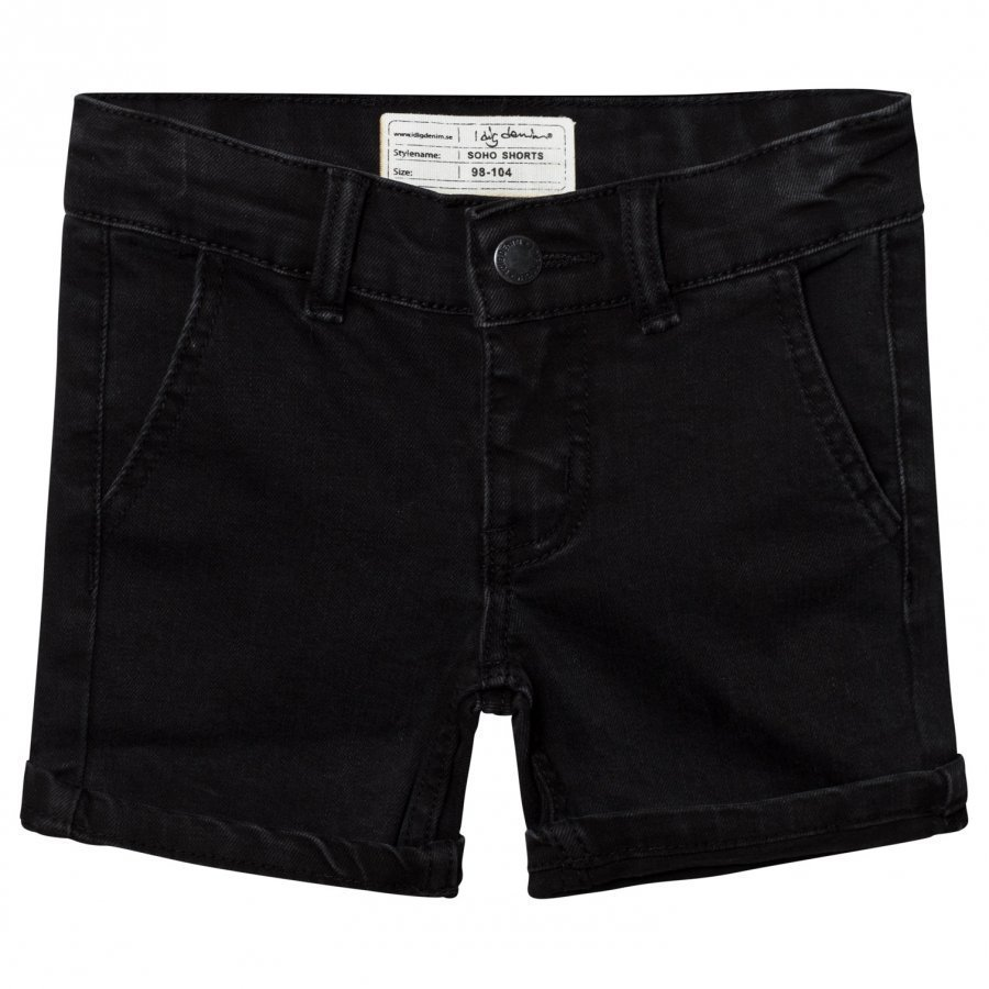 I Dig Denim Soho Shorts Black Farkkushortsit