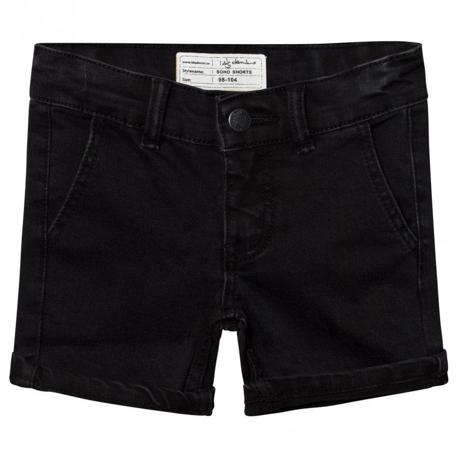 I Dig Denim Soho Shorts Black Farkkushortsit