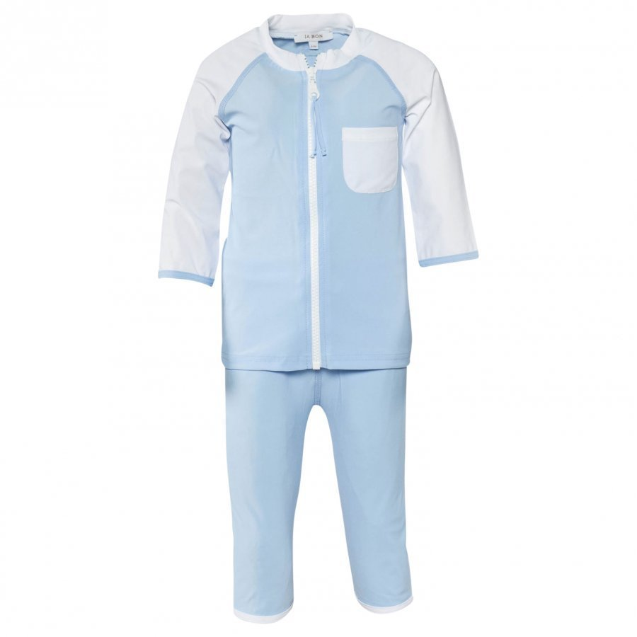 Ia Bon Boys Uv Suit Light Blue Aurinkopuku