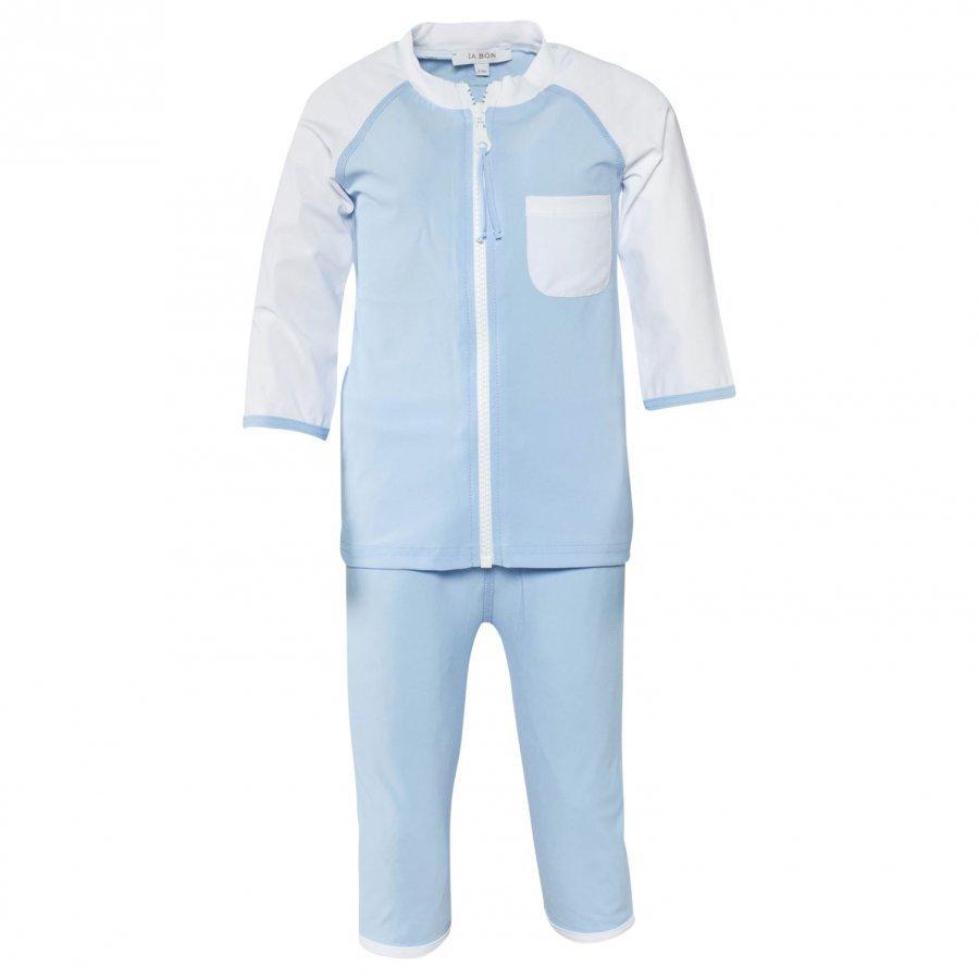Ia Bon Boys Uv Suit Light Blue Aurinkopuku