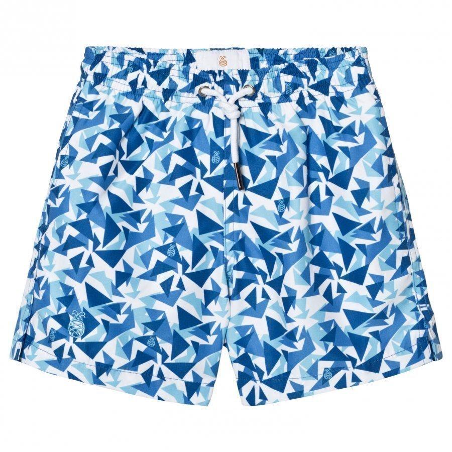 Ia Bon Swimshorts Turquoise Uimapuku