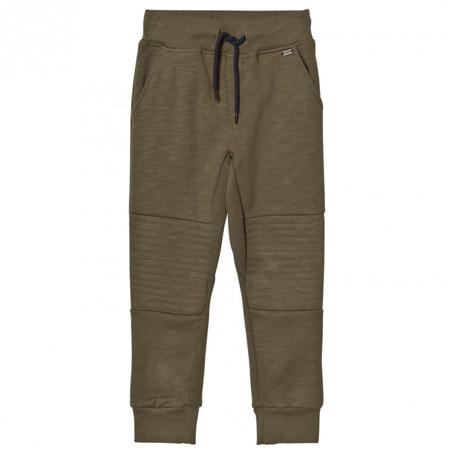 Ikks Khaki Paneled Sweat Pants Verryttelyhousut