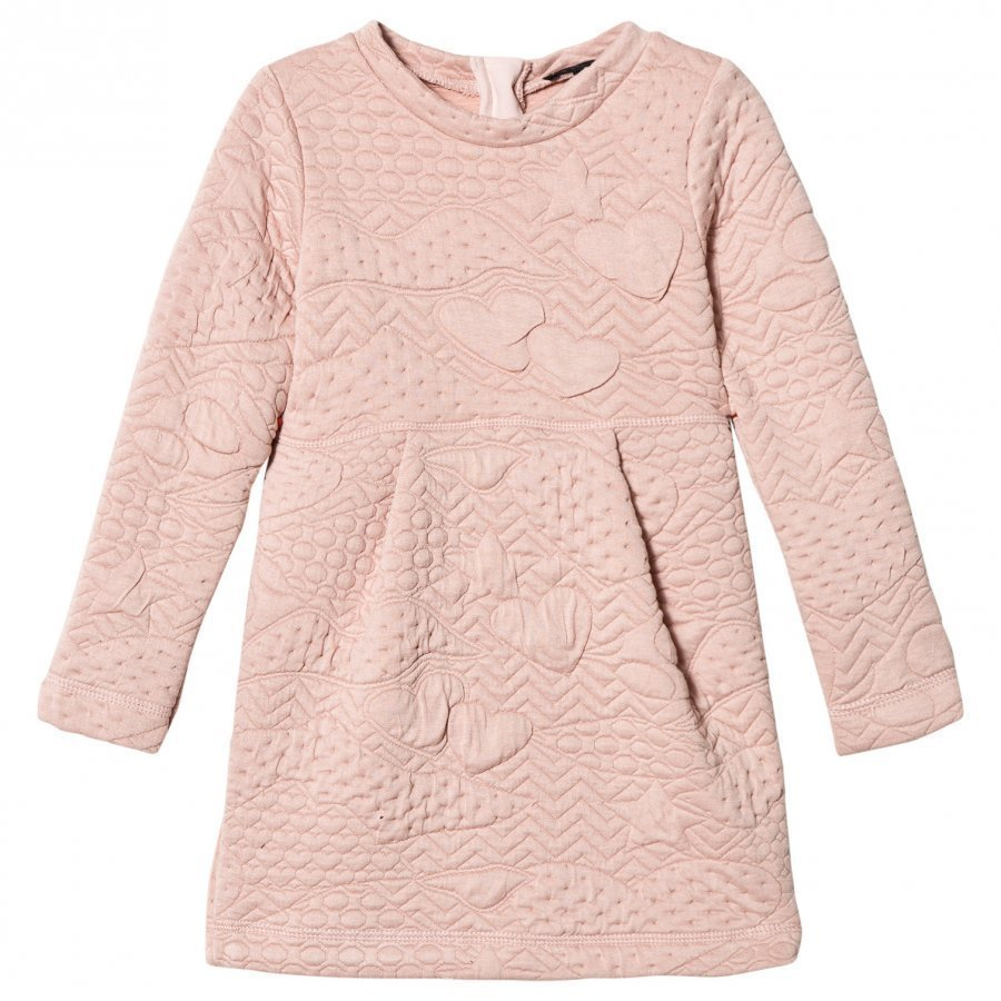 Ikks Pink Quilted Dress Mekko