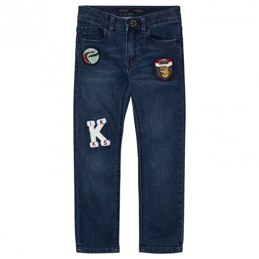 Ikks Slim Fit Badge Jeans Farkut