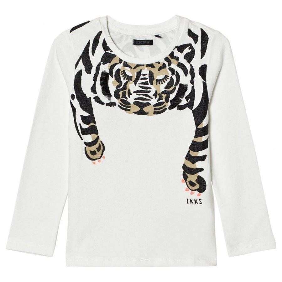 Ikks Tiger Print Graphic Tee T-Paita