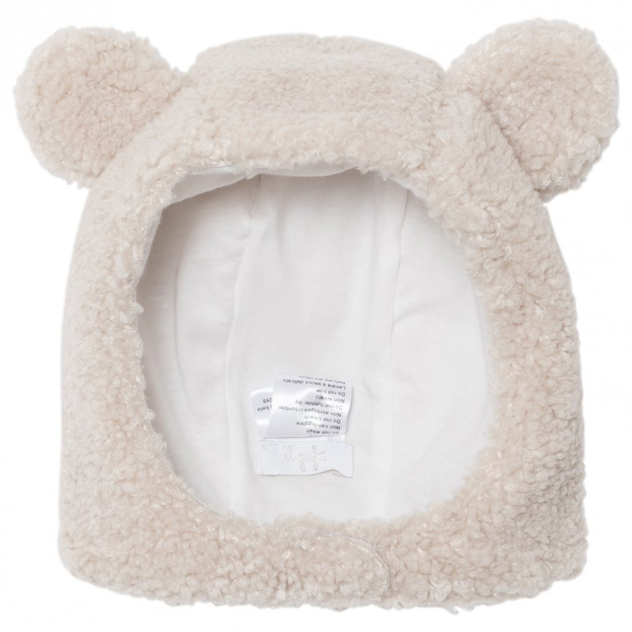 Il Gufo Beige Teddy Fleece Headband Hiuspanta