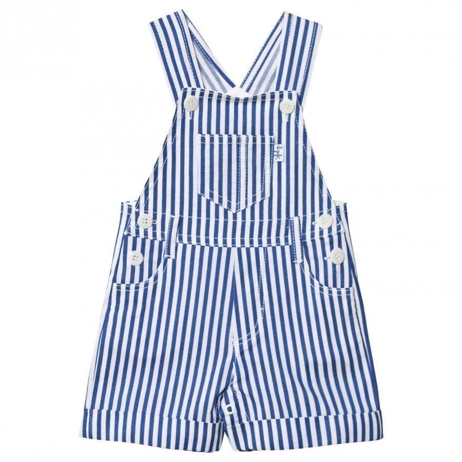 Il Gufo Blue Cotton Overalls Lappuhaalari