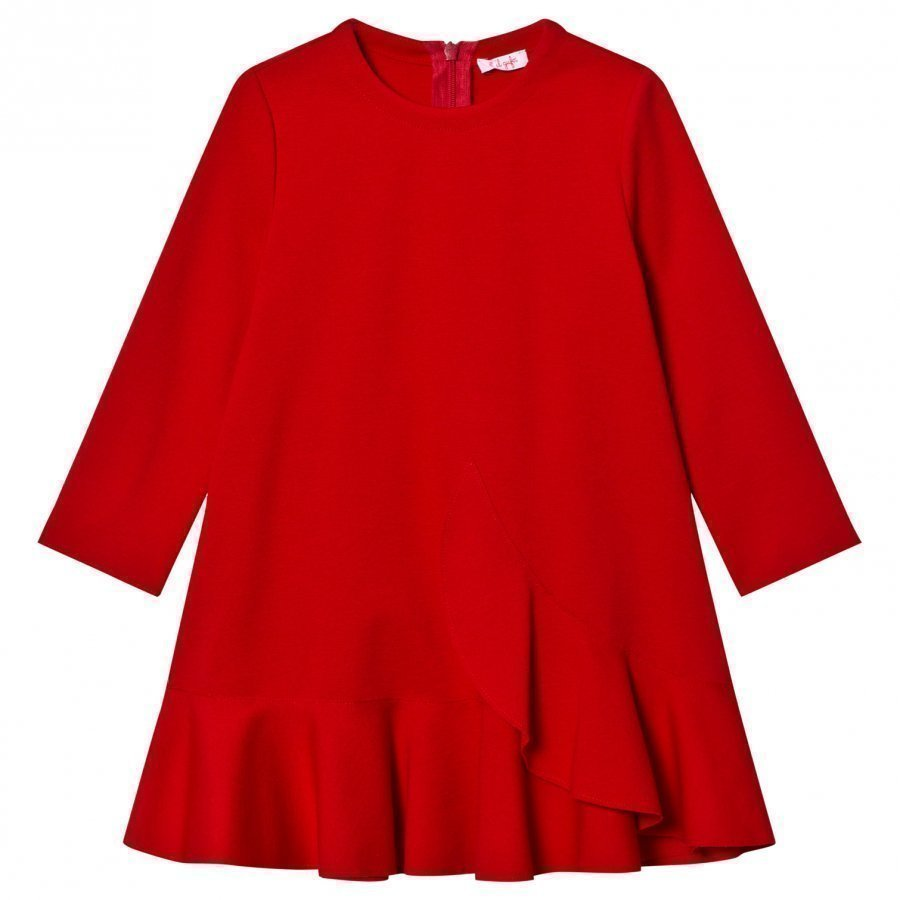 Il Gufo Red Milano Dress Mekko