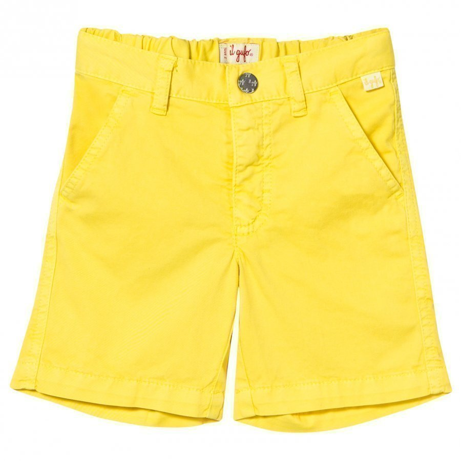 Il Gufo Yellow Chino Shorts Shortsit