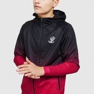 Illusive London Fade Poly Full Zip Huppari Musta