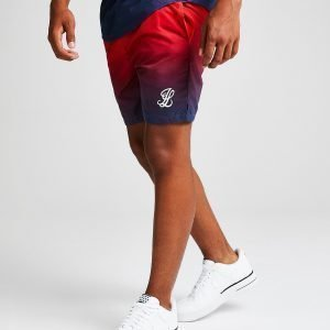 Illusive London Fade Swim Shorts Punainen