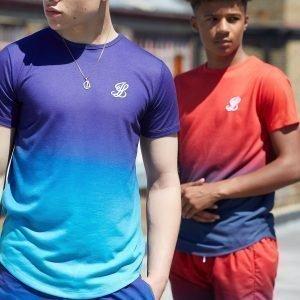 Illusive London Fade T-Shirt Sininen