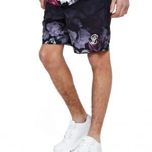 Illusive London Floral Swim Shorts Laivastonsininen